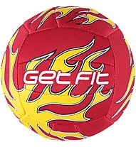 Get Fit Volley Ball Mini Jerseyprene, Red/Yellow