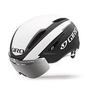 Giro Casco bici da corsa Air Attack Shield, matte black/white