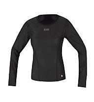 GORE BIKE WEAR Base Layer WS Lady Thermo Shirt long, Black