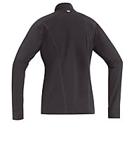 GORE RUNNING WEAR Essential Thermo Lady Shirt maglia a maniche lunghe running donna, Black/Pink