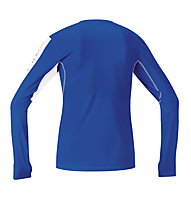GORE RUNNING WEAR X-Run Ultra Long Laufshirt, Light Blue/White