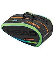 Head Radical LTD Edition borsa tennis, Black/Multicolor