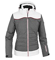 Hot Stuff Ski W HS Damen-Skijacke, White/Grey