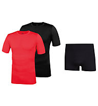 Hot Stuff Completo intimo Sommerset Men, Black/Red