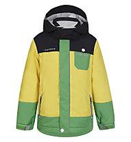 Icepeak Jamie KD Kinder-Skijacke, Yellow/Blue