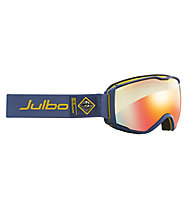 Julbo Aerospace Zebralight - maschera sci, Light Blue/Light Yellow