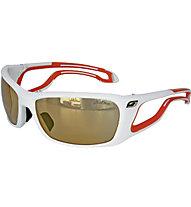 Julbo PipeLine Speed - occhiale sportivo, White/Orange
