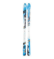 K2 Skis BackLite (2013/14), Light Blue/White