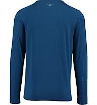 Kaikkialla Matias T-shirt Maglia a maniche lunghe trekking, Blue