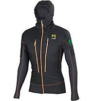 Karpos Alagna Plus Jacket Giacca con cappuccio, Black