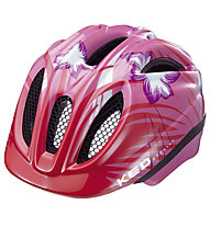 KED Casco bici Meggy Rescue/Reptile, Pink Flower