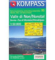 Kompass Karte Nr. 95 1:50.000, 1:50.000