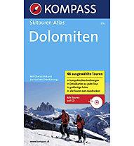 Kompass Skitouren-Atlas Dolomiten, German