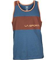 La Sportiva Astroman Tank - Klettershirt, Blue