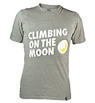La Sportiva Climbing On The Moon T-shirt arrampicata, Mid Grey