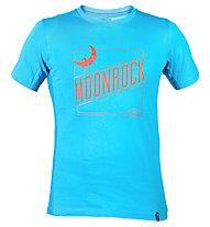 La Sportiva Moonrock T-shirt arrampicata, Sea Blue
