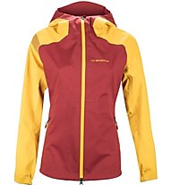 La Sportiva Storm Fighter 2.0 Gtx Jkt W Damen Winterjacke mit Kapuze, Red