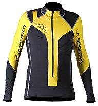 La Sportiva Syborg Racing Jacke, Grey/Yellow
