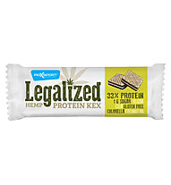 Max Sport Barretta energetica Legalized Hemp Protein, White/Green