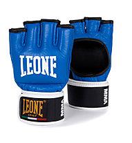 Leone MMA Handschuhe, Black/Light Blue
