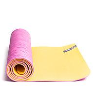 Lolë Pose Yoga Mat Tappetino fitness, Yellow/Pink