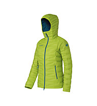 Mammut Miva IS Hooded Daunenjacke Damen, Fern/Dark Pacific