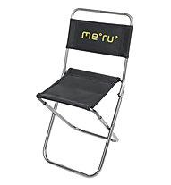 Meru Camping Chair, Alu/Black