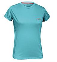 Meru T-Shirt trekking donna, Tille Blue