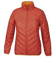 Meru Gander Woman Light Down Jacket giacca piuma trekking donna, Fiesta/Persimmon Orange