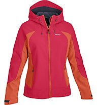 Meru Odelas giacca Softshell donna, Red/Orange