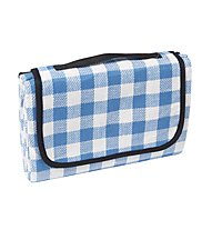 Meru Woodstock Picnic Blanket, Blue Checked