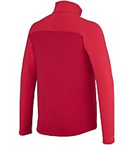 Millet Technostretch Zip Felpa in pile alpinismo, Red