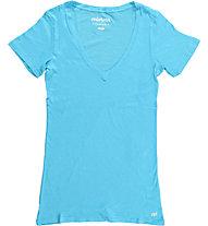 Mistral V-Neck Short Sleeve Tee, Turquoise