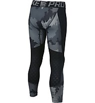 Nike Boys Pro Hyperwarm Tight Pantaloni lunghi fitness bambino, Black