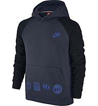 Nike Boys Sportswear Hoodie - Kapuzenjacke für Kinder, Blue/Black