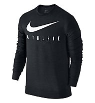 Nike Dry Training Top - felpa, Black