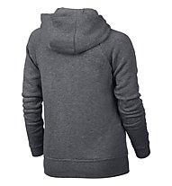 Nike Girls' Sportswear Modern Hoodie Sweatshirt Jacke Mädchen, Grey