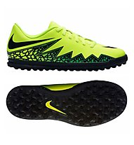 Nike Hypervenom Phade II TF Junior - Fußballschuh Kunstrasen, Volt/Black
