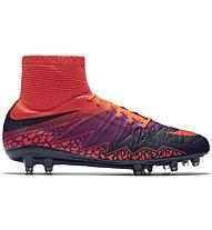 Nike HyperVenom Phatal II DF FG - Fußballschuhe fester Boden, Crimson