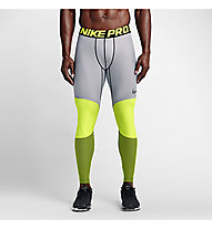 Nike Hyperwarm 5th Quarter Tights - Funktionsunterhose, Volt/Black/Volt