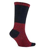 Nike Jordan Ele Print Crew - Basketball Socken, Red/Blue