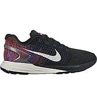 Nike Lunarglide 7 - scarpa running donna, Black