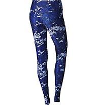 Nike Legend Poly Tight Drift - Damenhose, Blue