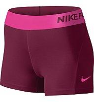 "Nike Pro 3"" Cool Short pantaloncini ginnastica donna, Red/Pink"
