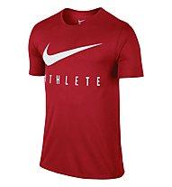 Nike Swoosh Athlete T-Shirt Training Herren, Red