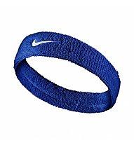 Nike Swoosh Stirnband, Blue/White