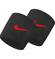 Nike Swoosh Wristbands - Armbänder, Black/Red