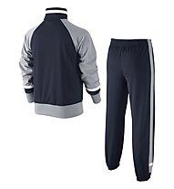 Nike T45 Tricot Cuffed Warm UP - tuta sportiva bambino, Obsidian/Wolf Grey/White