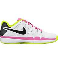 Nike Air Vapor Advantage Clay Tennisschuh Damen, White/Black/Pink