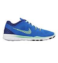 Nike Free 5.0 TR Fit 5 Breathe Trainingsschuh Damen, Soar/Green Glow